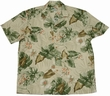 ORIGINAL HAWAIIHEMD - MONSTERA ORCHID BEIGE - PARADISE FOUND