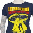 LIGHTNING BEATMAN GIRLIE SHIRT - BLUE
