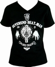 BEAT-MAN - HANDS - GIRL-SHIRT SCHWARZ
