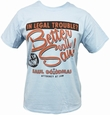 BREAKING BAD T-SHIRT BETTER CALL SAUL! HELLBLAU