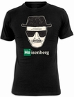 BREAKING BAD T-SHIRT HEISENBERG WALTER WHITE - SCHWARZ