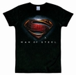 LOGOSHIRT - SUPERMAN - MAN OF STEEL SHIRT