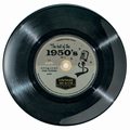 VINTAGE AUDIO - MELAMIN TELLER 50'S SINGLE