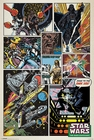 Star Wars Poster Retro Comic Collage