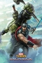 Marvel Thor Ragnarok Thor and Hulk Poster